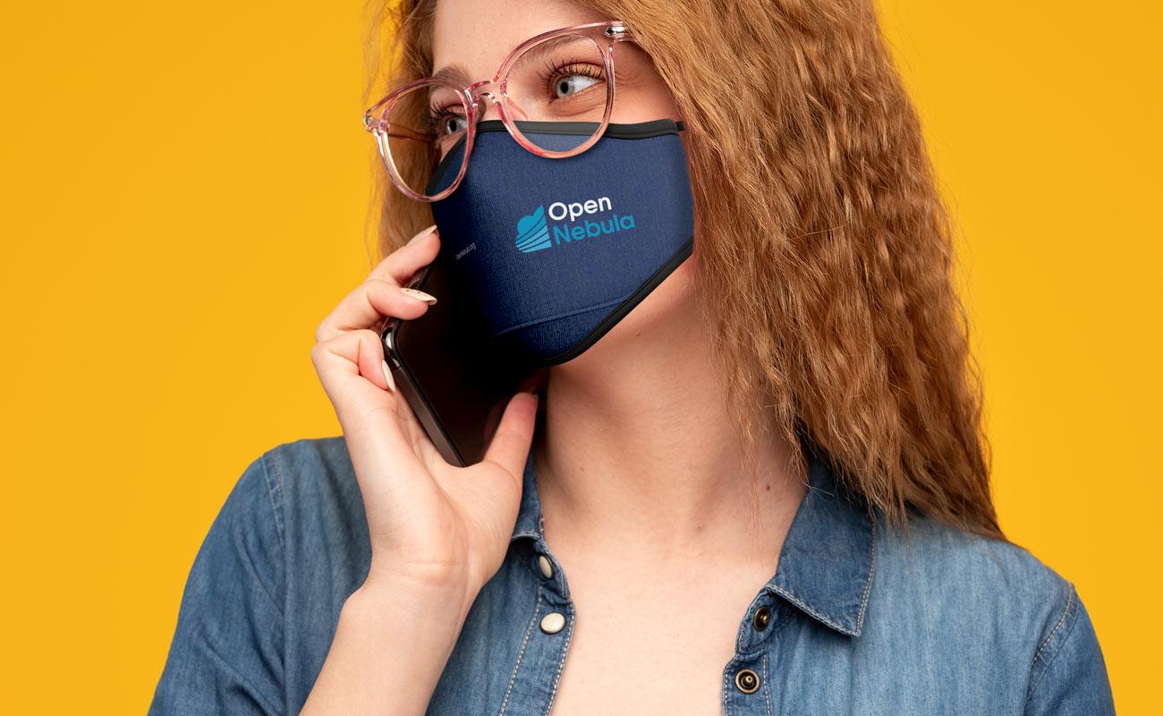 Denim - Personalised Face Masks