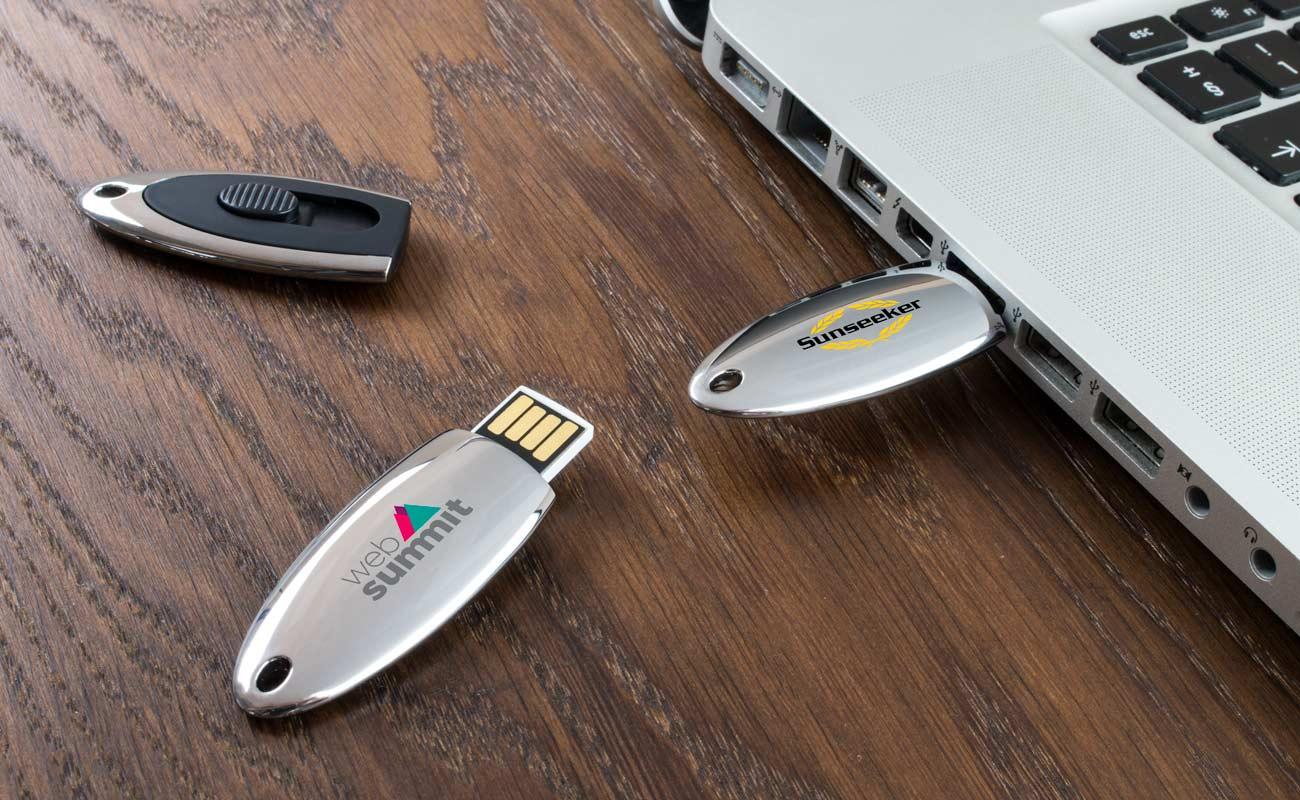 Ellipse - Personalised USB